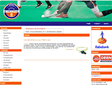 Tablet Preview of hockeyclubenkhuizen.nl